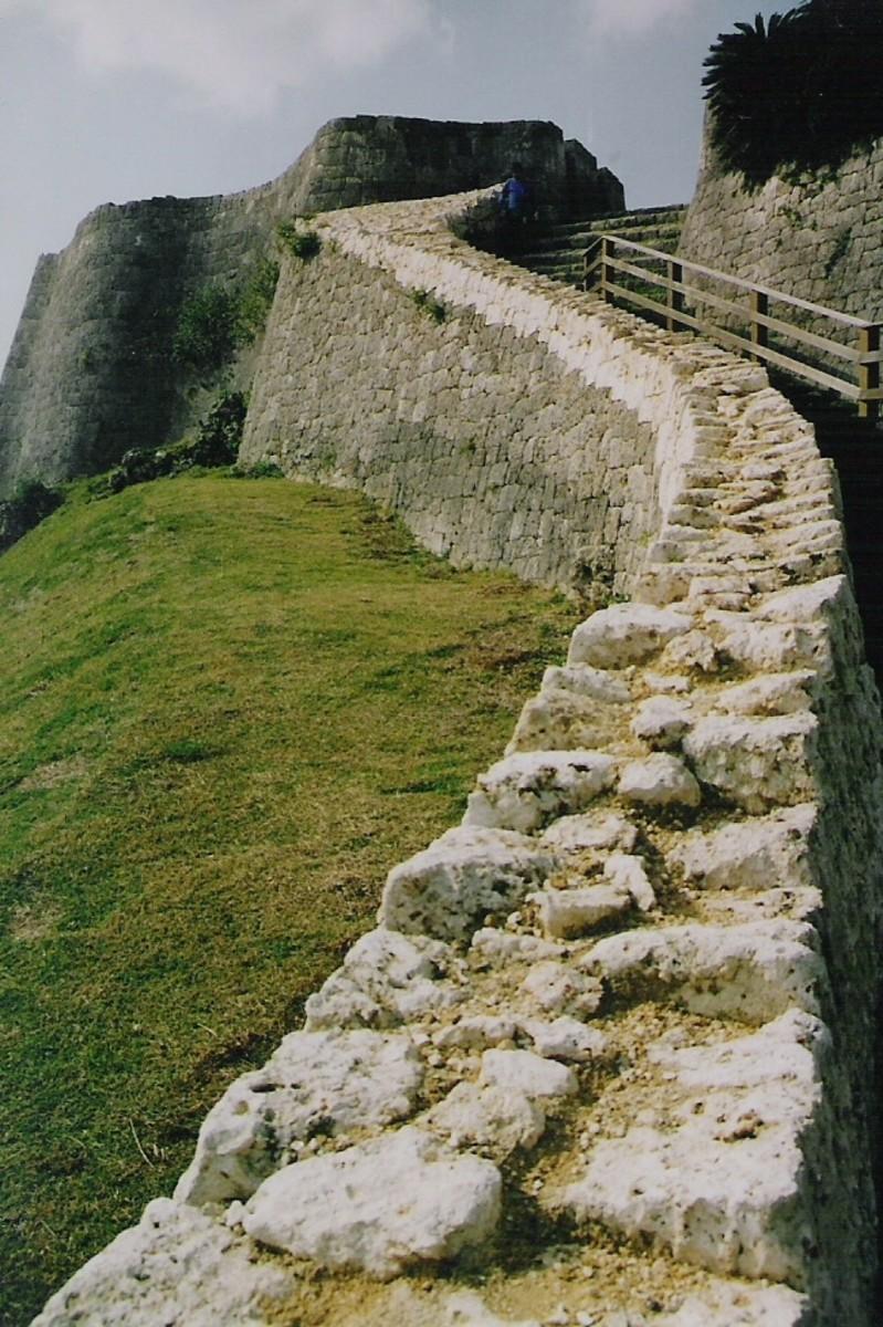 Katsuren Castle. One of six UNESCO World Heritage sites on the island.