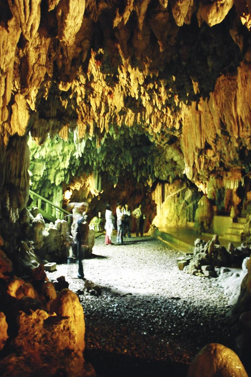 Futenma shrine-cave in Futenma, Okinawa.
