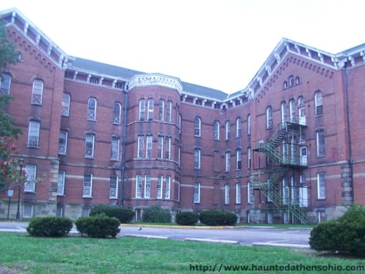 The Ridges Mental Health Institution Athens Lunatic Asylum in Athens, Ohio