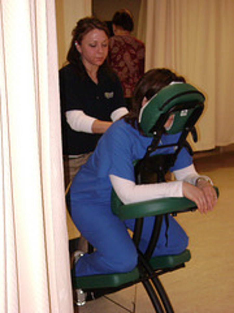 A Chair Massage