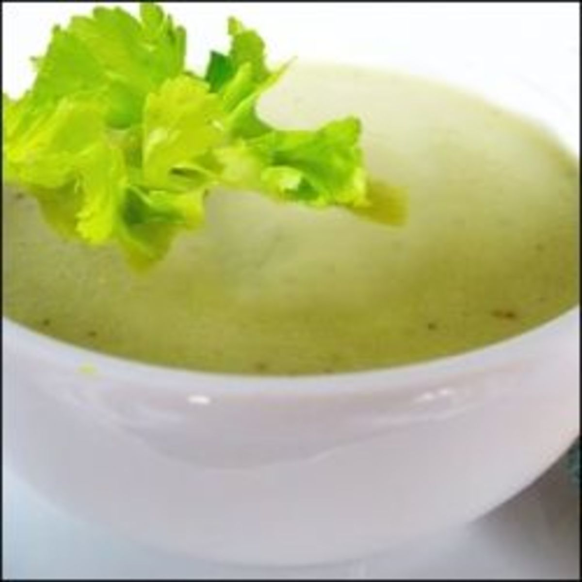 Healthy Vegetarian Recipes - Celery Soup