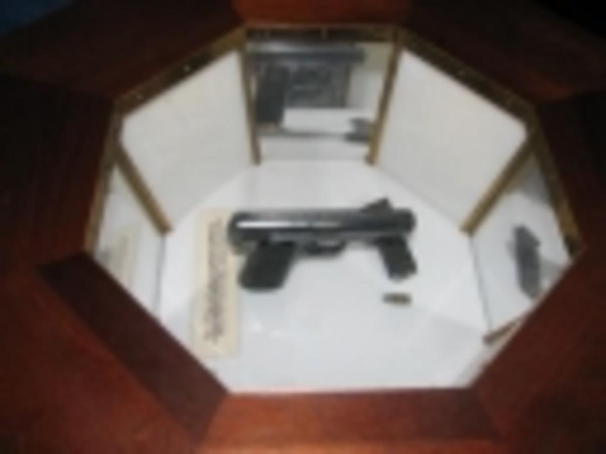 The gun that killed Huey?