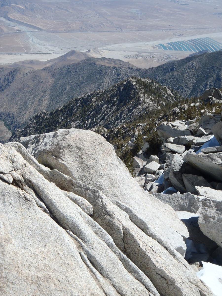 Coachella Valley from San Jacinto's summit.