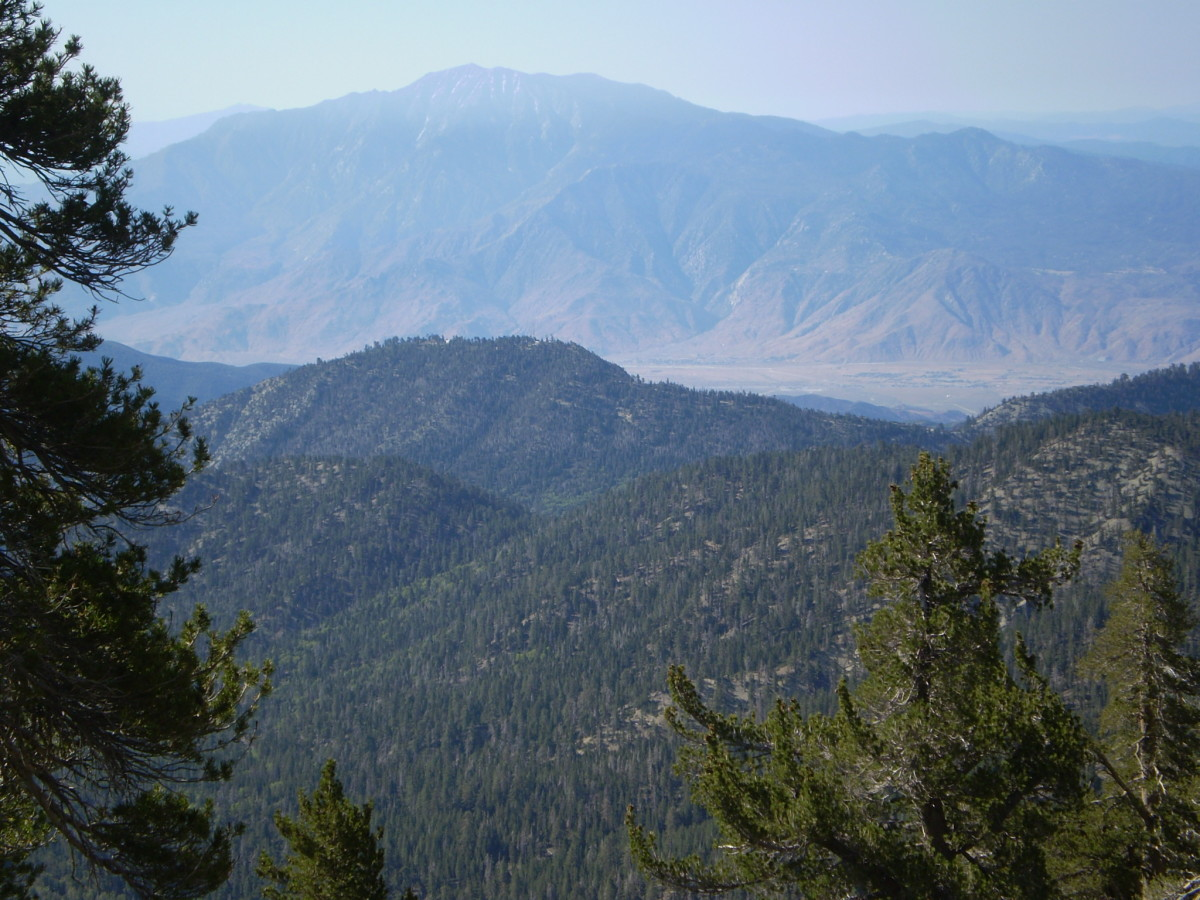 San Jacinto from the Vivian Creek Trail on San Gorgonio.