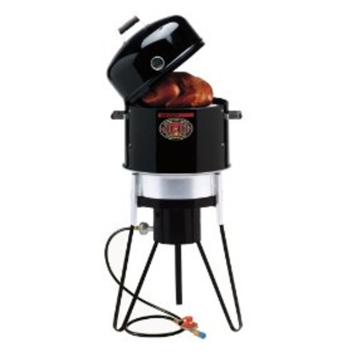 Brinkmann, All-In-One Outdoor Cooker.