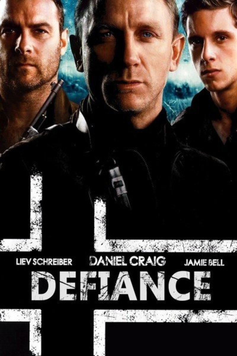Actor Daniel Craig stars in the film Defiance