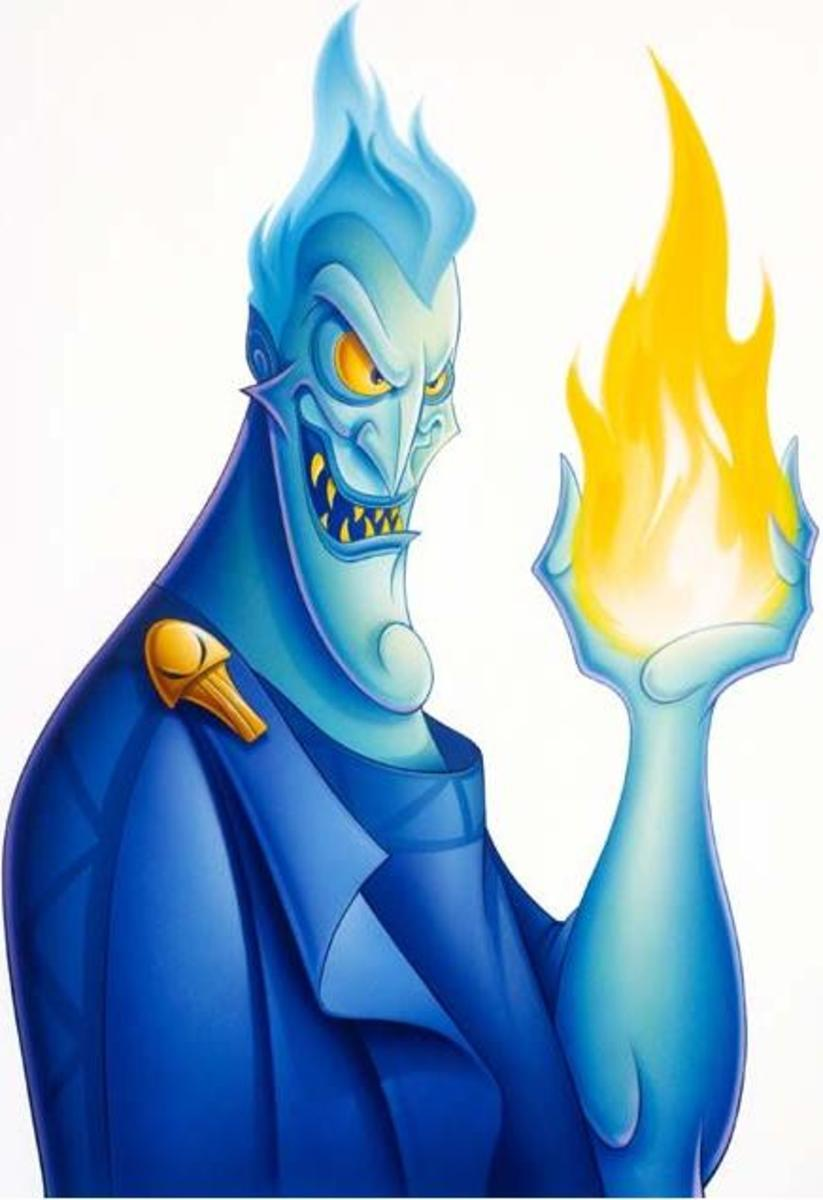 Top Ten Disney Villains