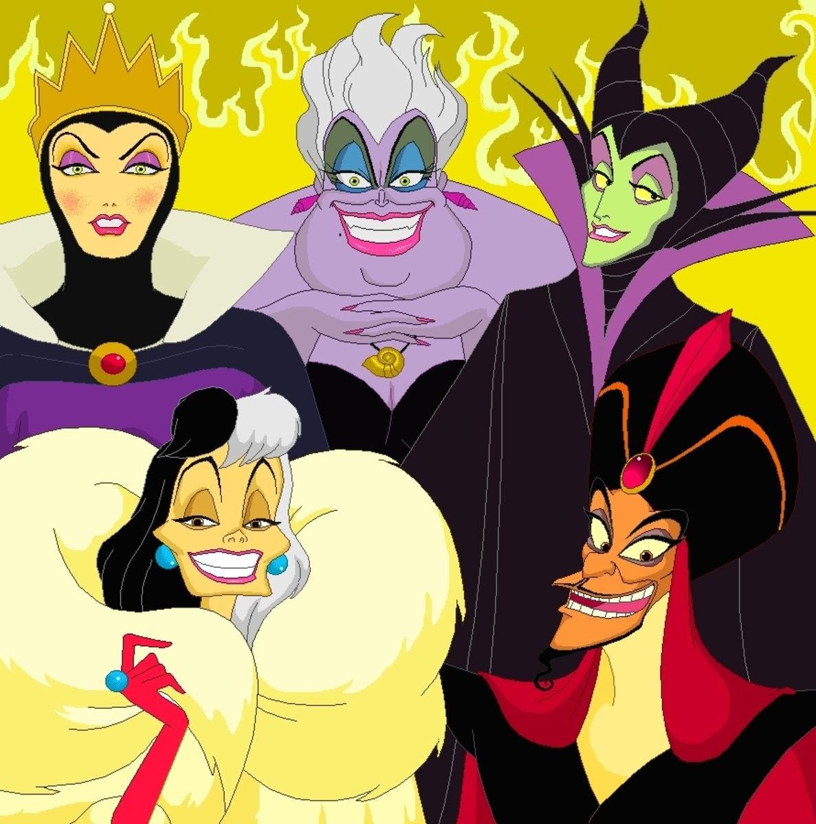 American Scary Tales - Top Ten Disney Villains