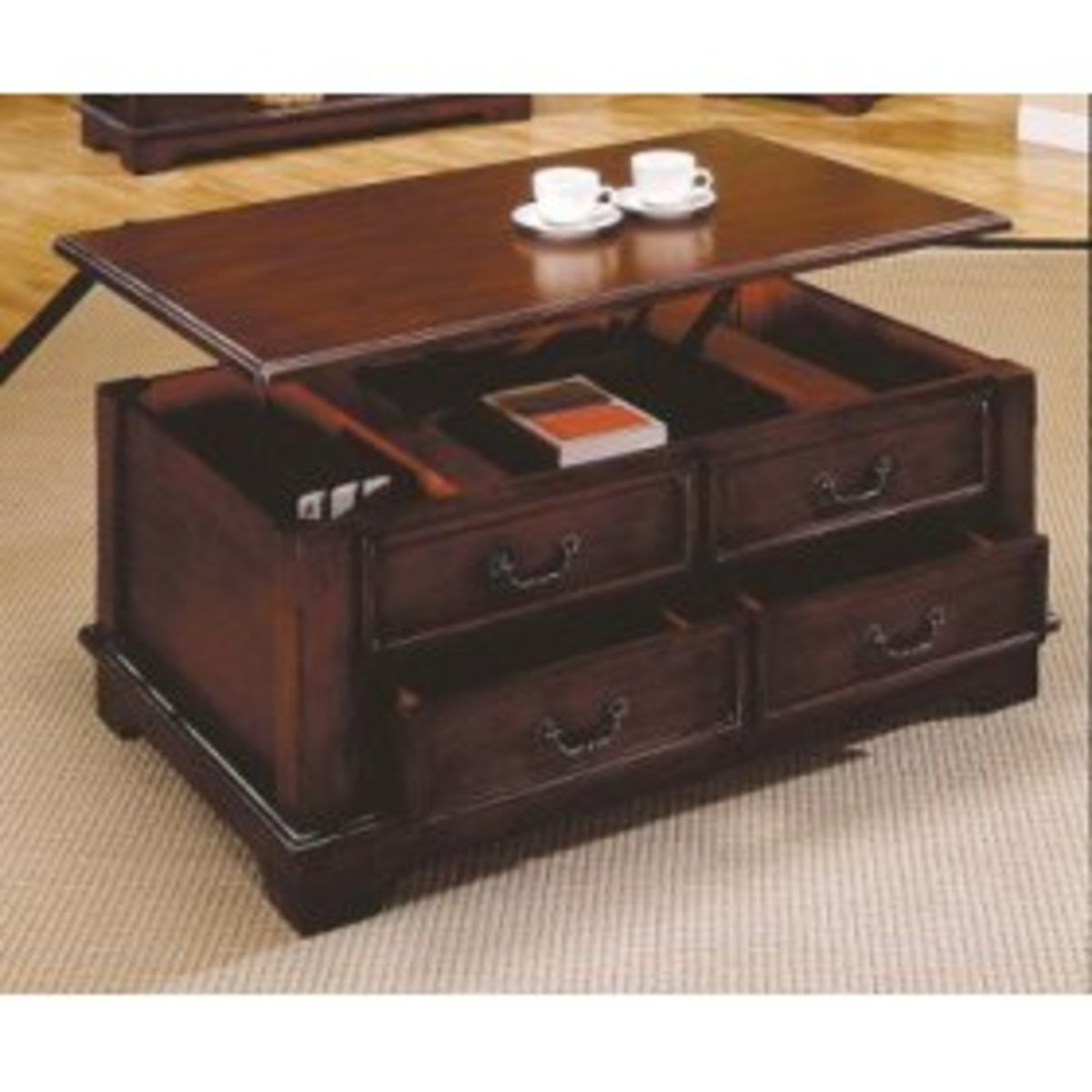 Lift Top Coffee Table Versatility
