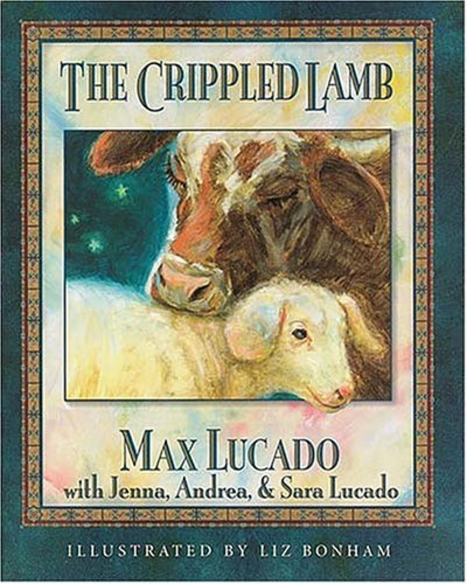 The Crippled Lamb by Max Lucado Book Cover