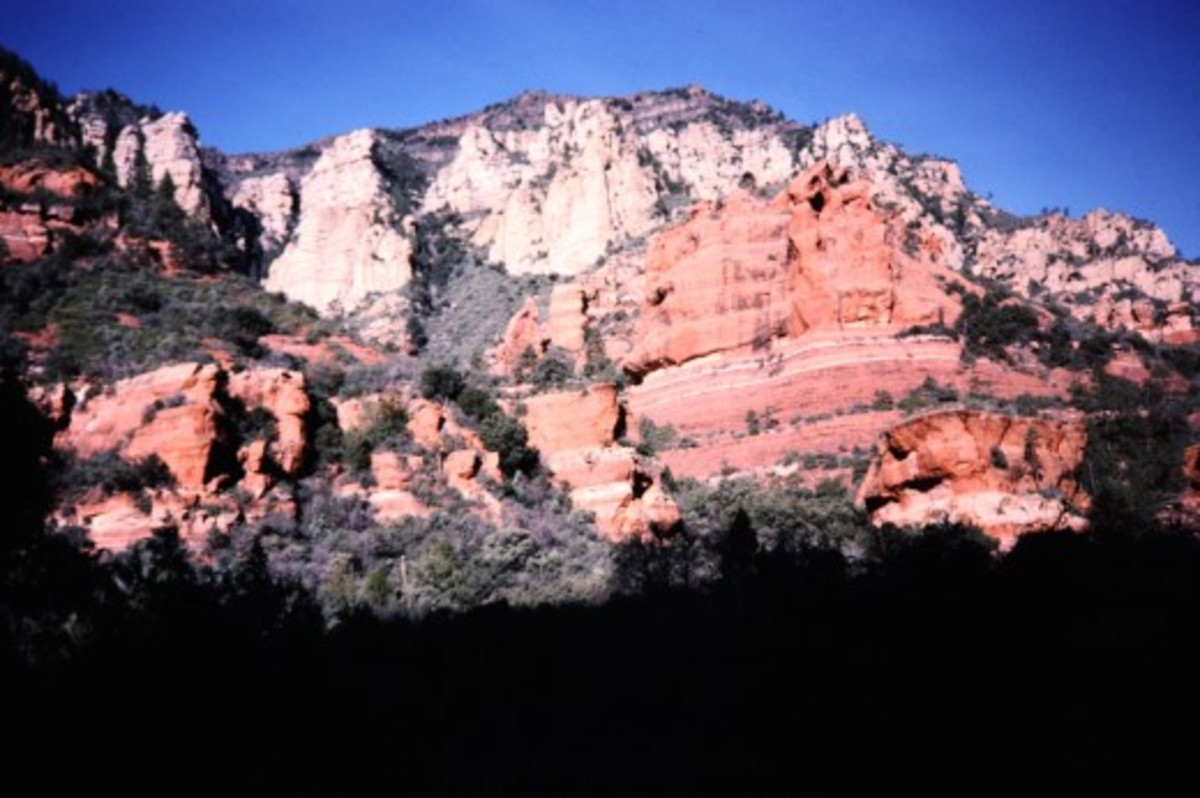 Red rocks around Sedona area