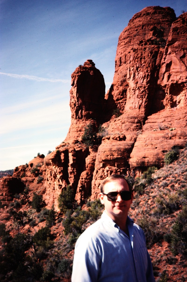 My hubby - Sedona, Arizona