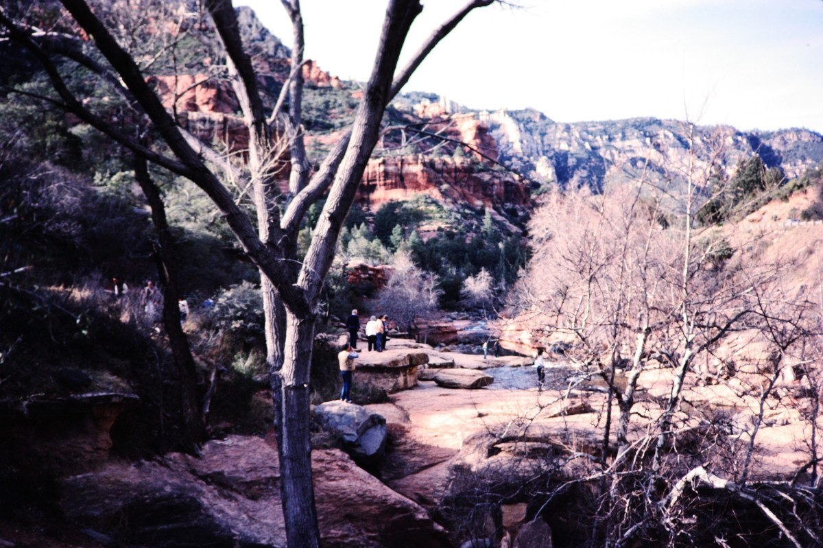 Slide Rock area