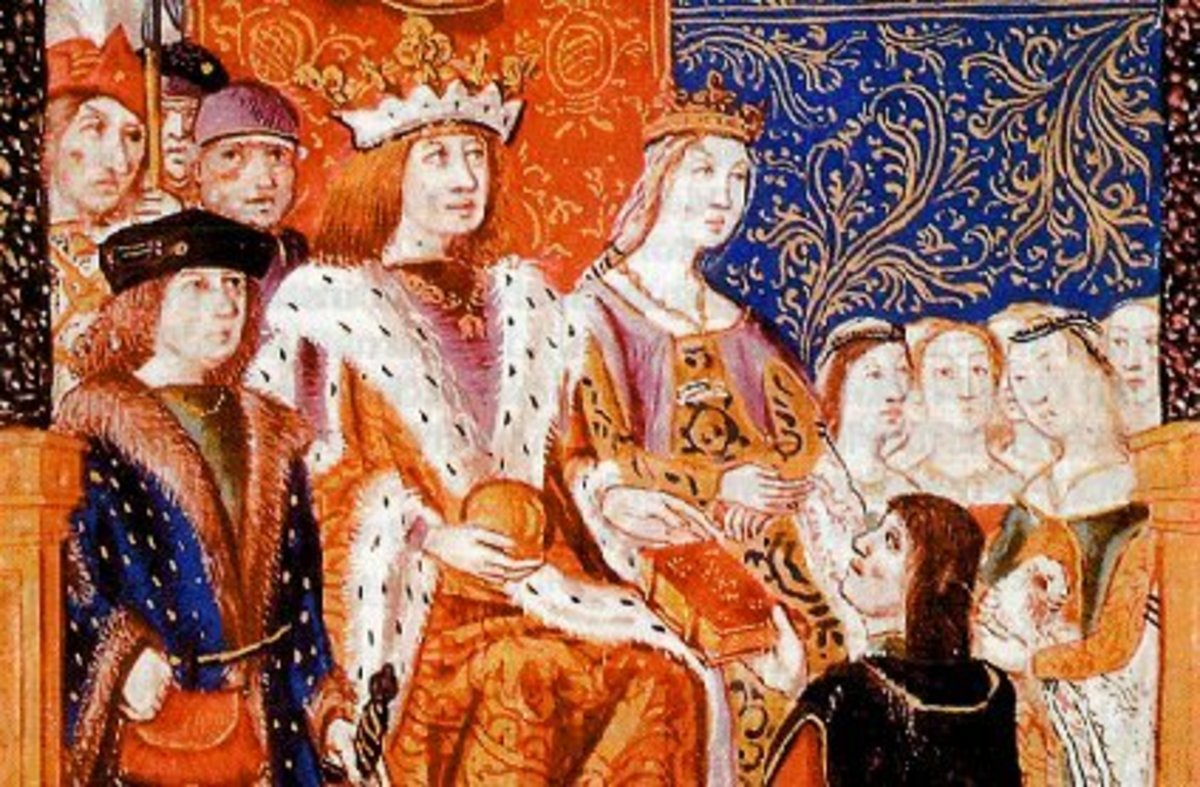 The Children of Ferdinand and Isabella of Spain