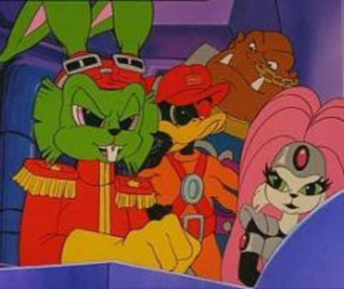 Top 10 cartoons of the 90's