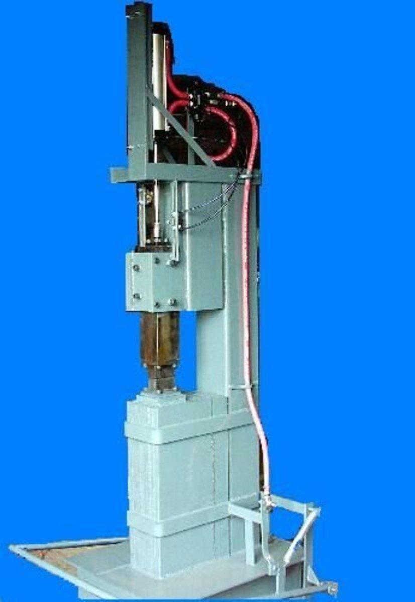 Power Hammer for Blacksmith Shop