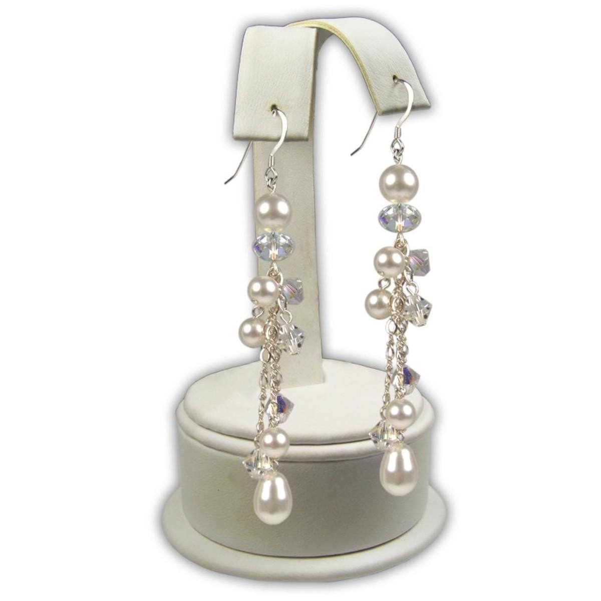 Miranda Earrings at silverlandjewelry.com