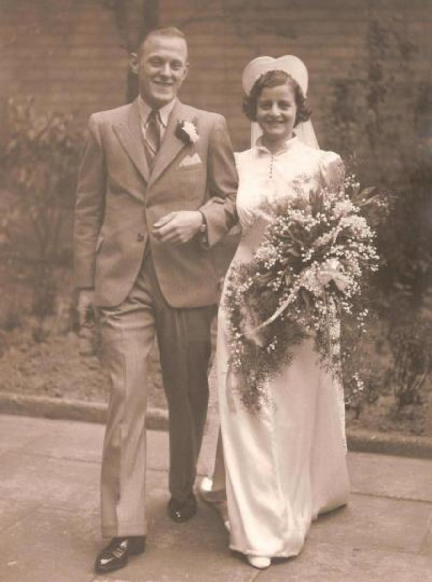 1936 Wedding Photo
