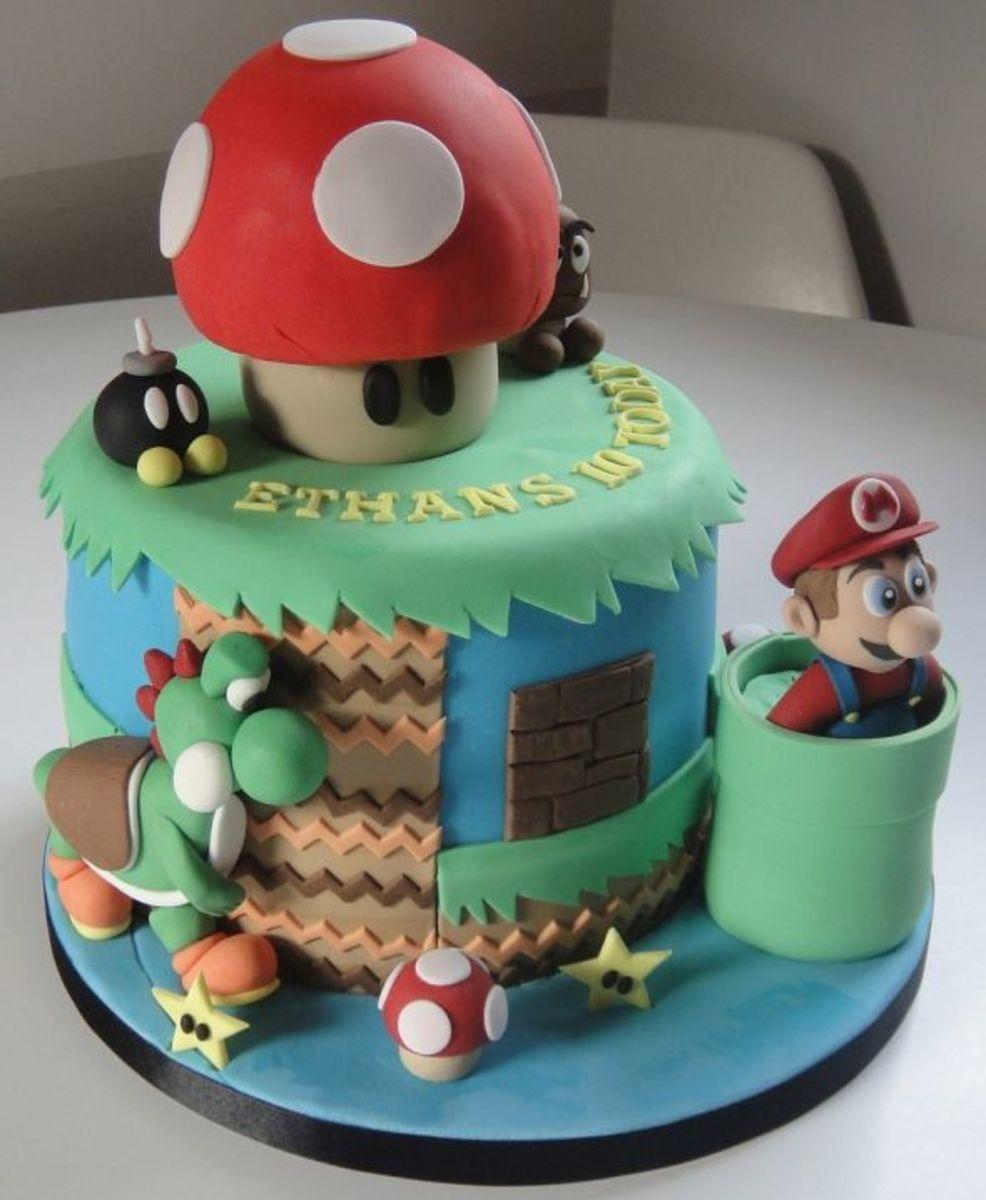 Mushroom Cake by Fay's Cakes