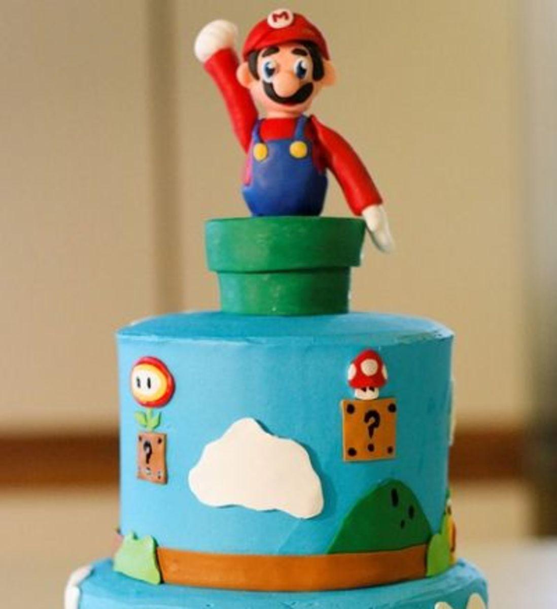 Awesome Mario Cake!