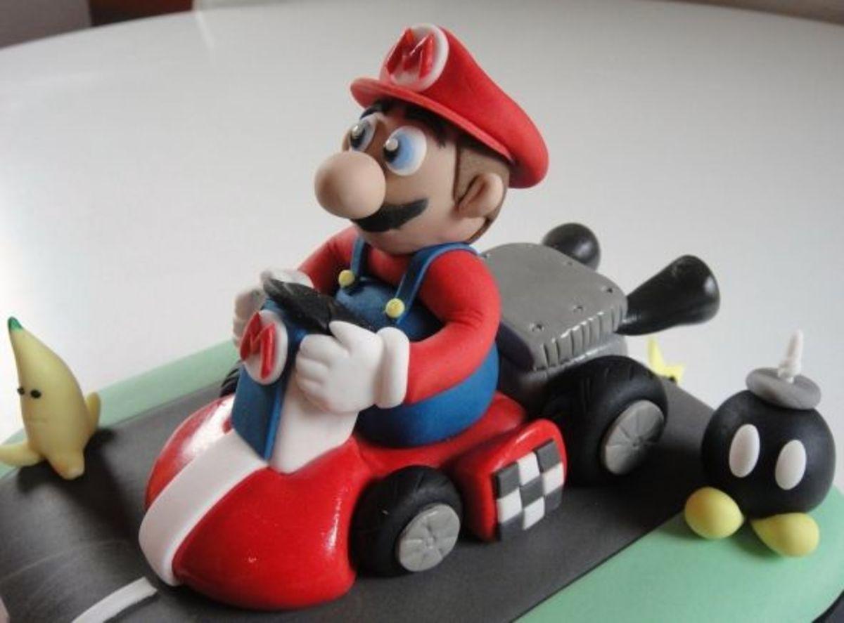 Mario Kart by Fay's Cakes