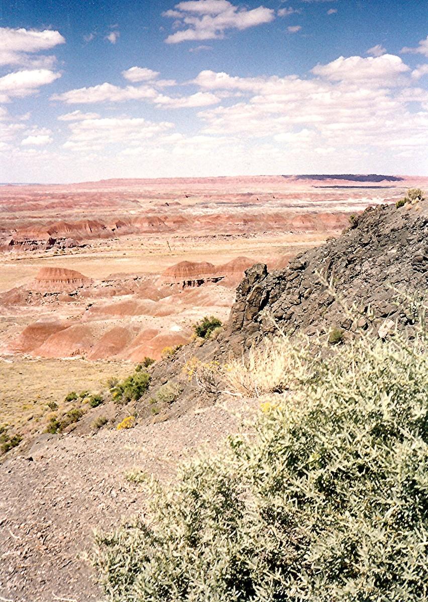 Painted Desert scenery