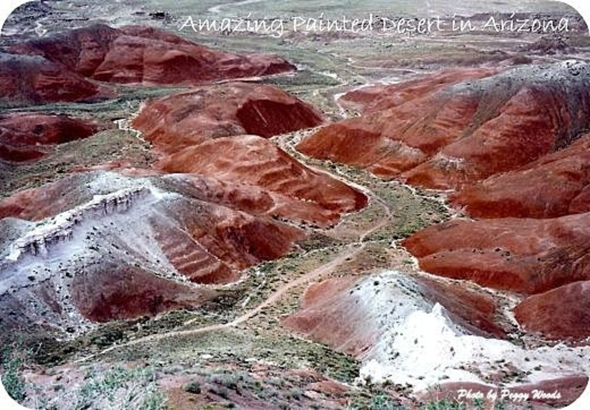 Awesome Pictures of Painted Desert in Arizona