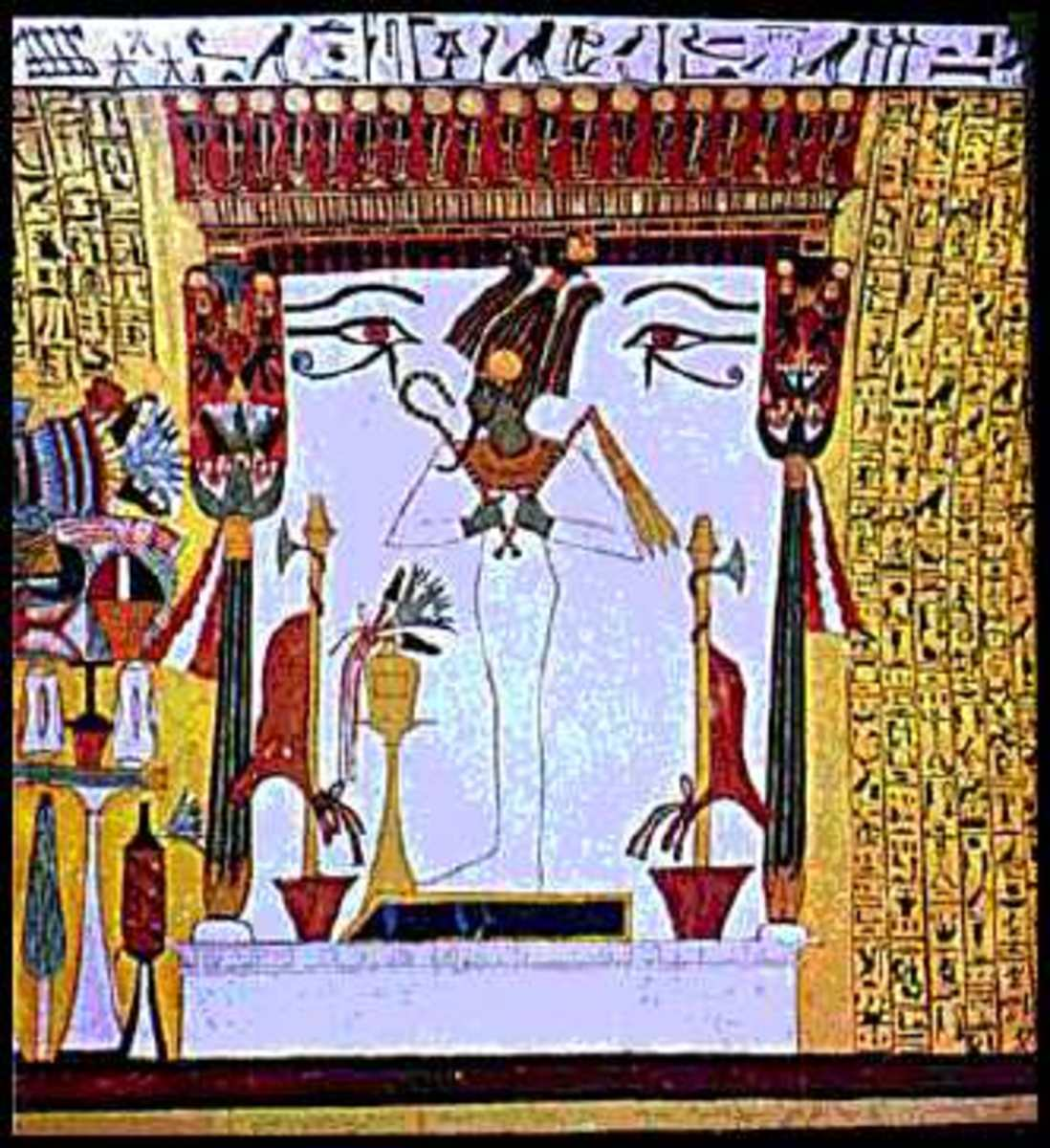 Osiris, God of the Dead, was represented by the stars of the modern-day constellation Orion.