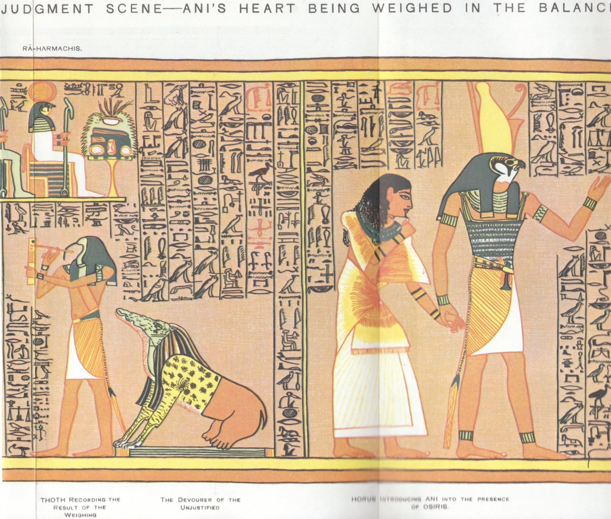 Negative confessions part 1 and 2 the origins of the egyptian gods