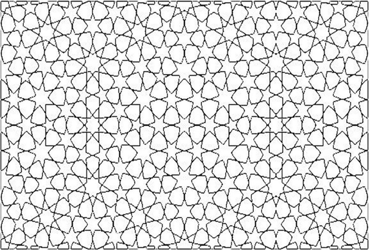 Mandala Pattern A4 - Colouring Pictures to print-and-color online.