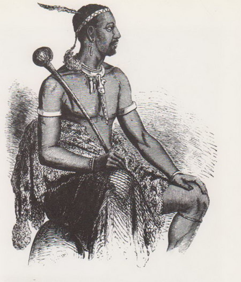 King Moshweshwe I who ruled during the time of Shaka/Tshaka. He stood up against the Zulu, gained several battles against the European invaders and managed to create a Basotho state that escaped incorporation in racist South Africa. Lesotho's first k