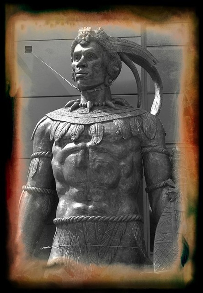 Shaka was one of the most influential monarchs of the Zulu Kingdom. He is widely credited with uniting many of the Northern Nguni people, specifically the Mthethwa Paramountcy and the Ndwandwe into the Zulu Kingdom, the beginnings of a nation that he