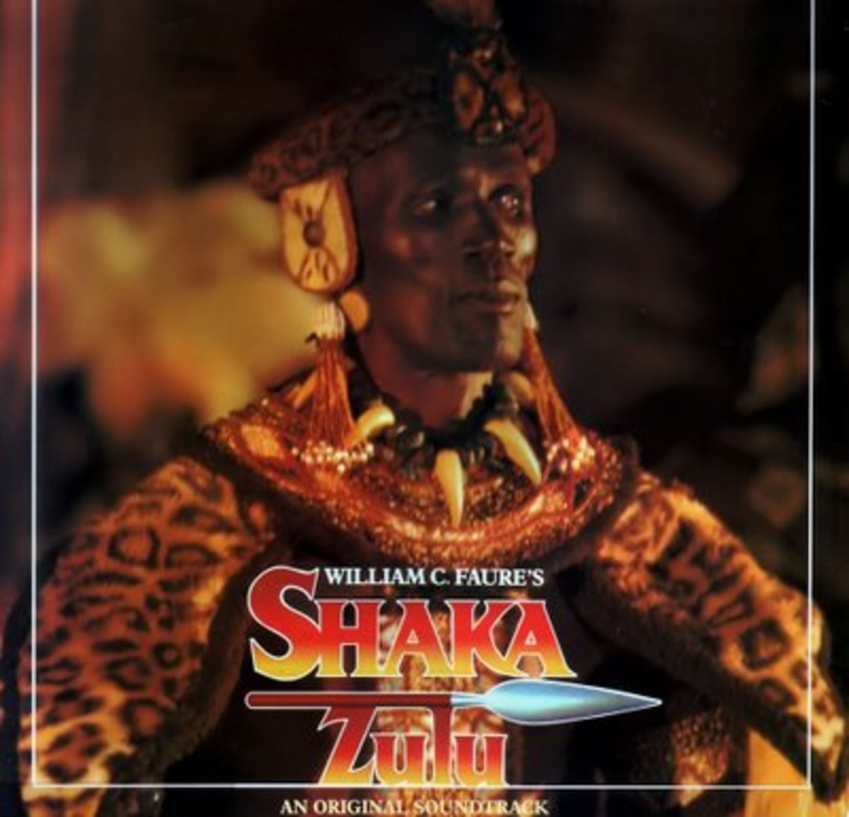 Depiction of Shaka's Image and character by Actor (Henry Cele) in this picture