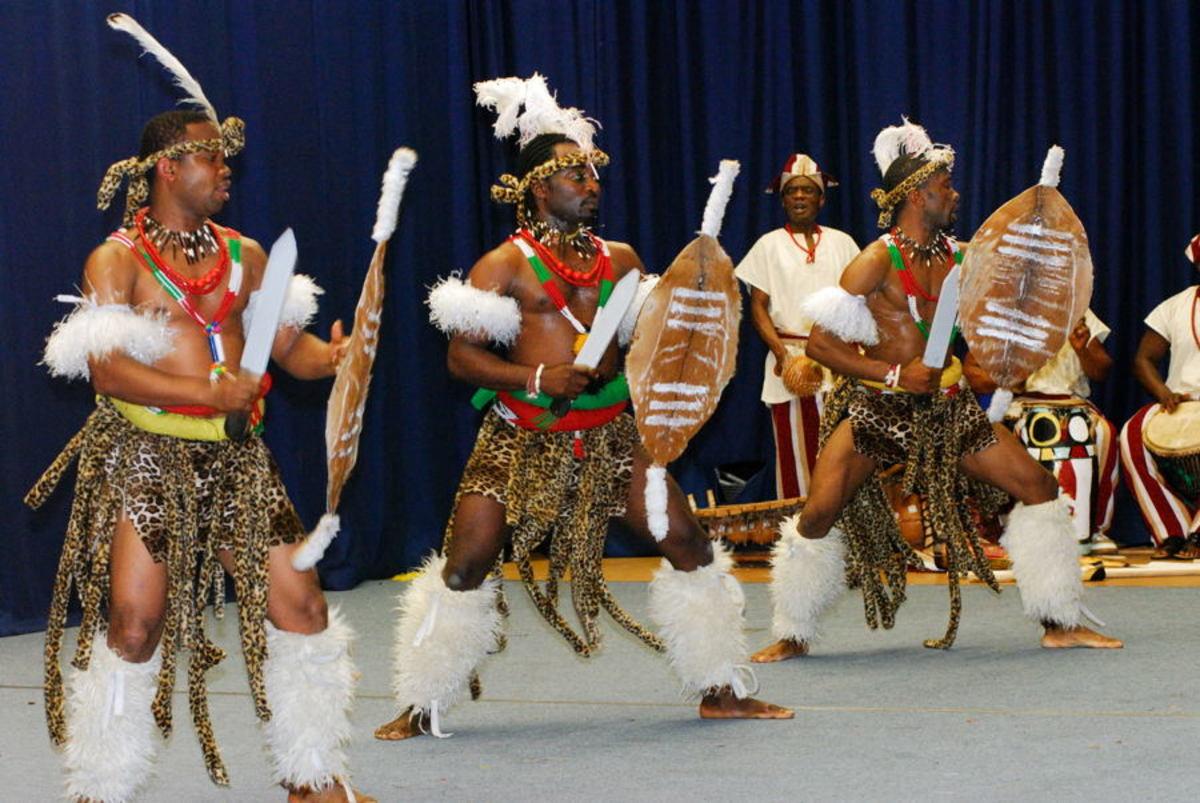 Zulu Dance troupe