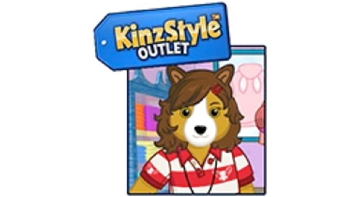 The Webkinz KinzStyle Outlet