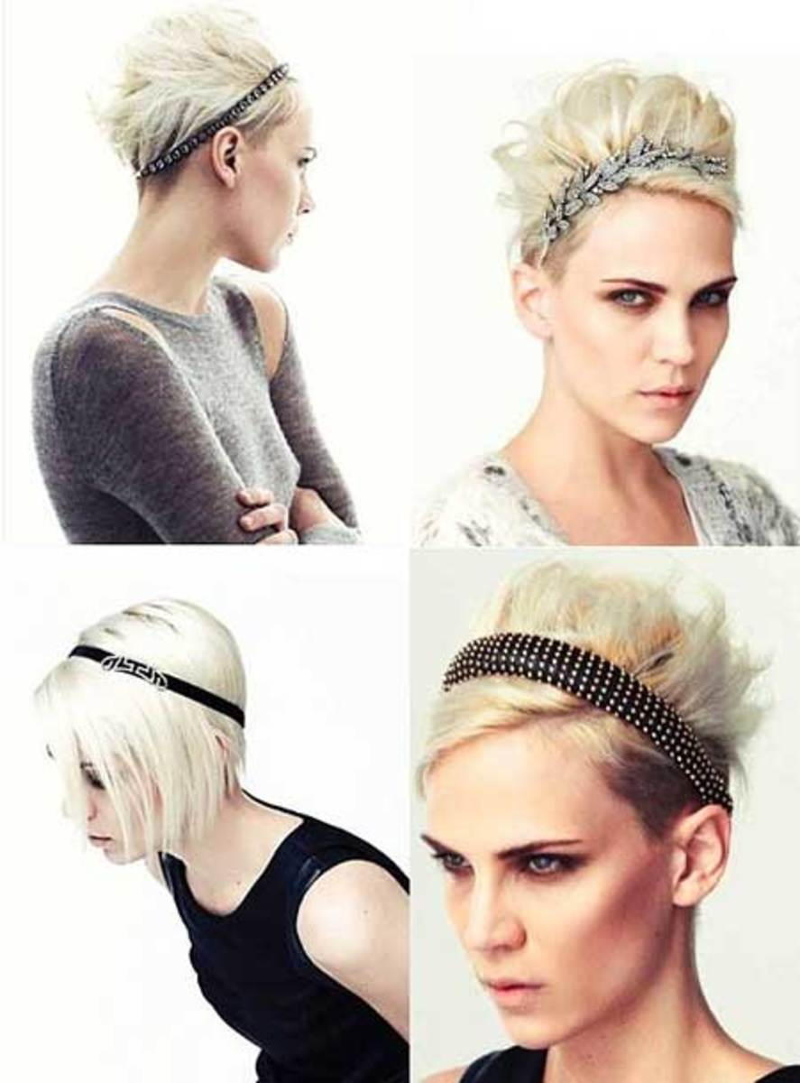 How to wear headbands