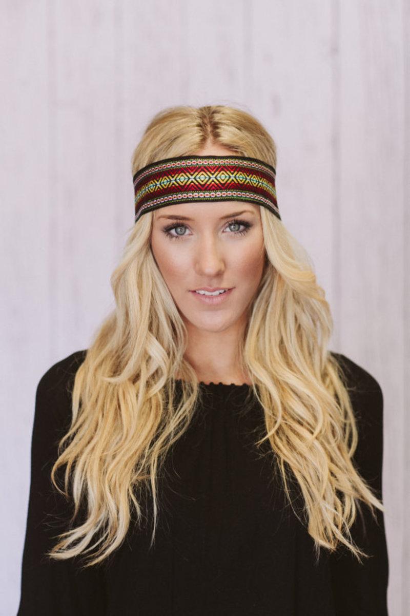 A modern hippie style headband