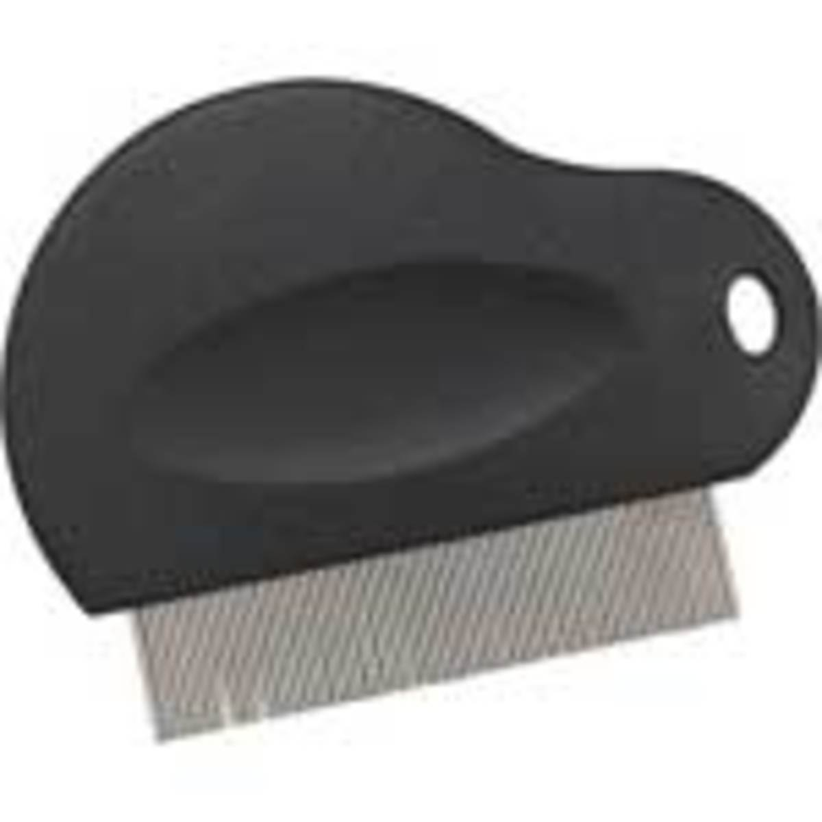 Flea comb w/ metal tines (teeth)