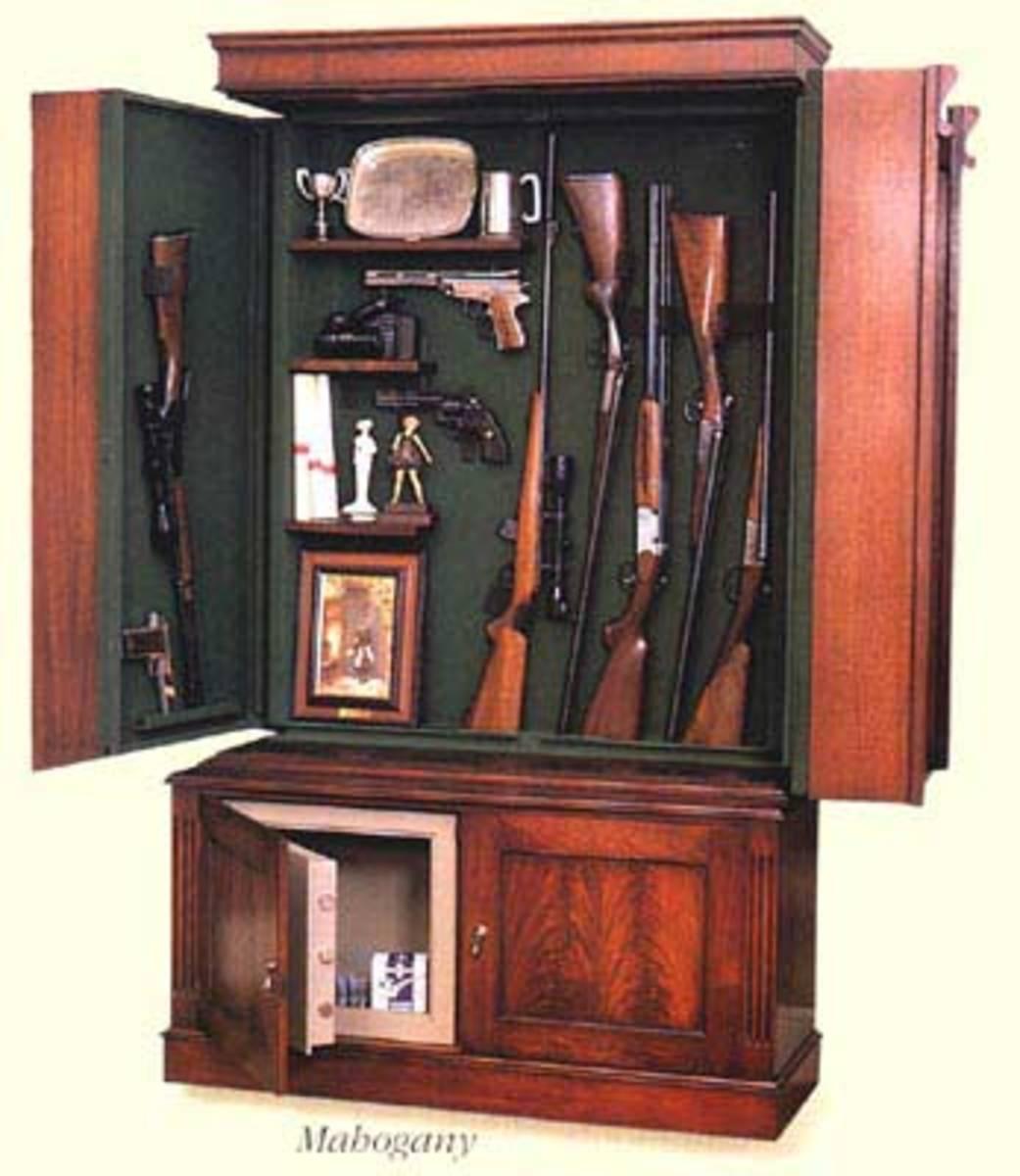 Hidden Gun Cabinet