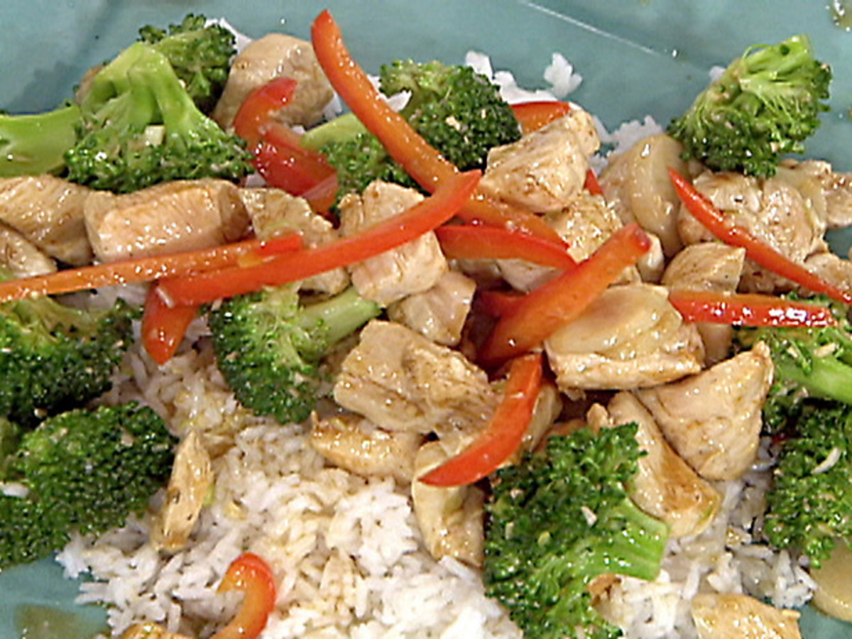 Simple And Easy Chicken Stir Fry Recipe