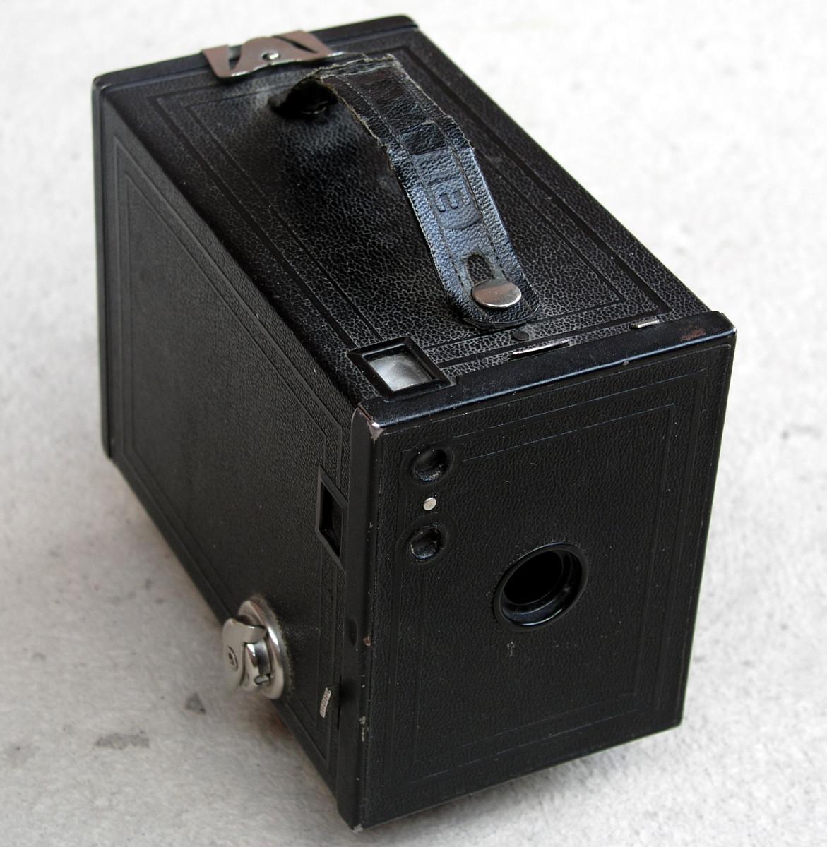 1910 Brownie Box Camera