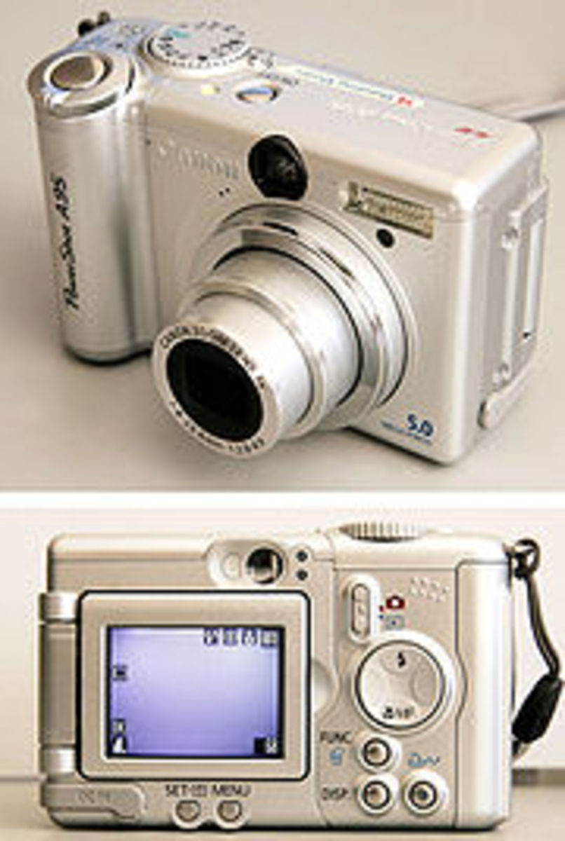 Modern Digital Camera - Cannon Powershot