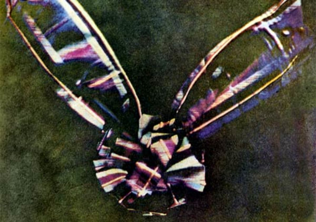 1861 First Colour photograph by James Clerk Maxwell