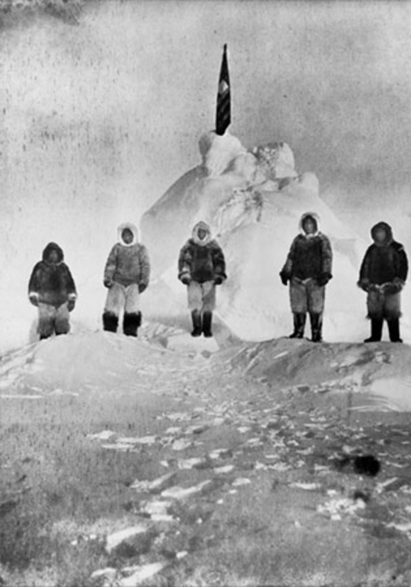 1909 First Explorers believed to have reached the North Pole