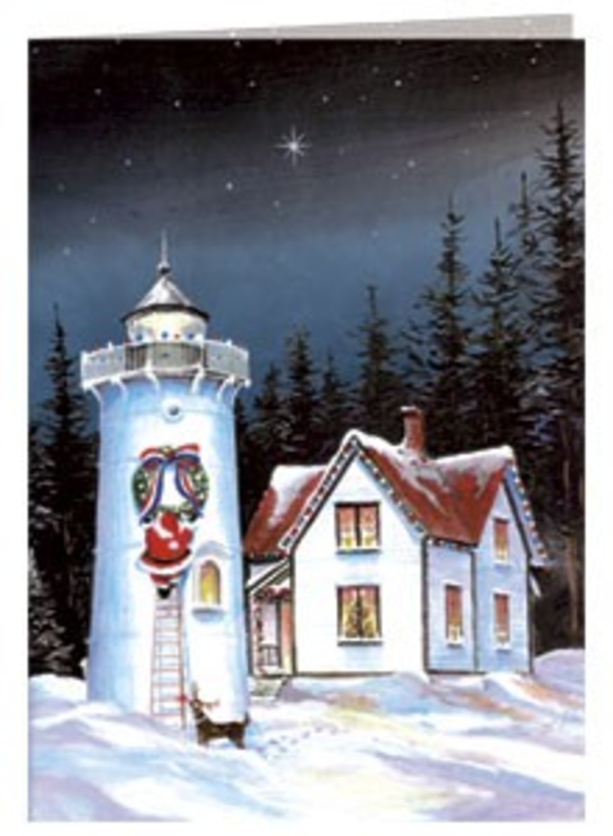 Lighthouse Christmas Cards | HubPages