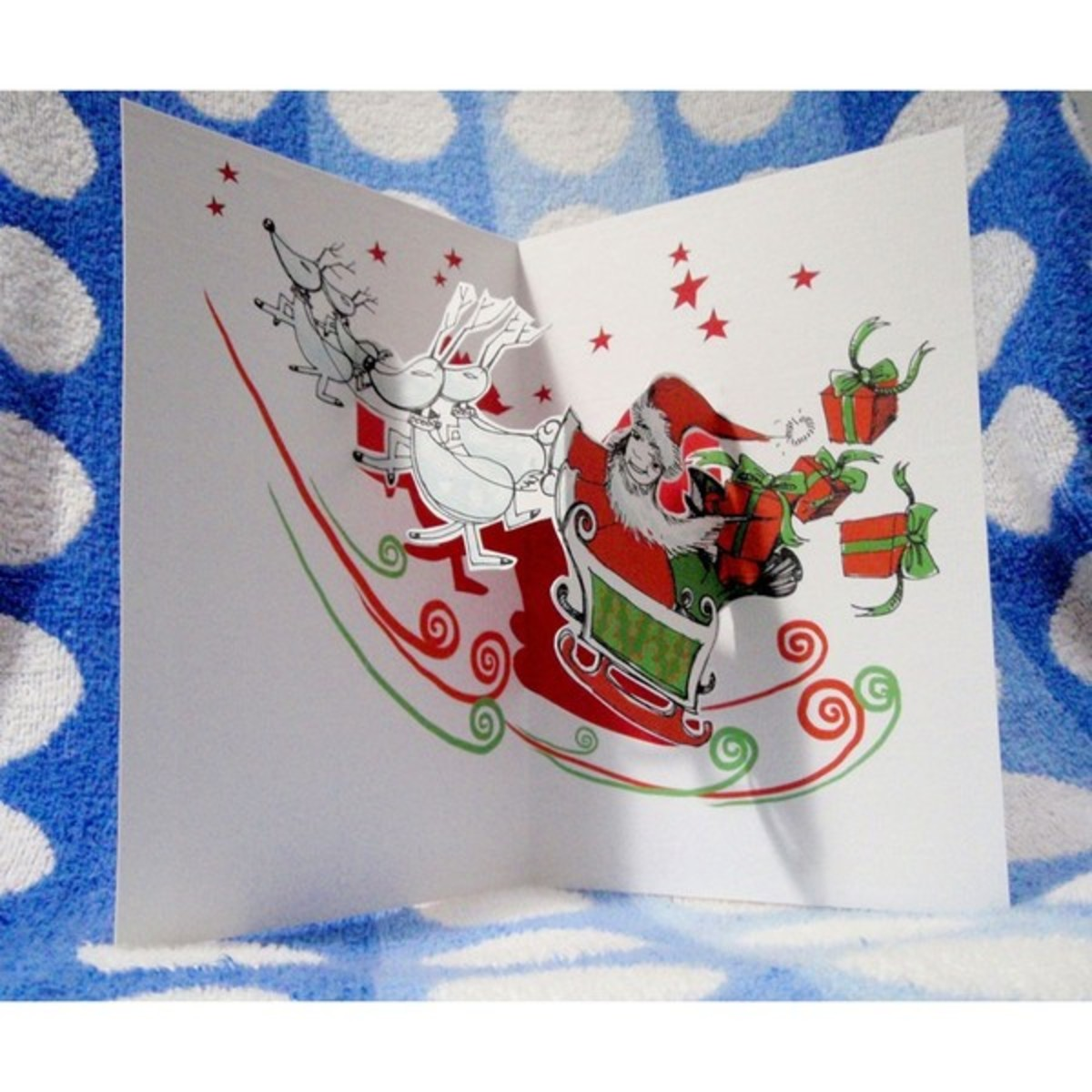 pop up christmas cards  hubpages