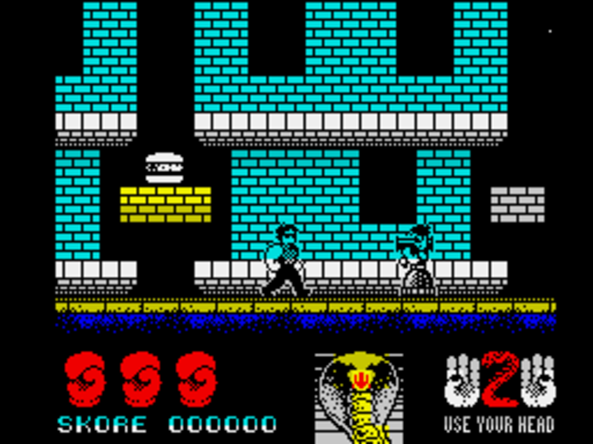 Cobra by Joffa Smith on the ZX Spectrum