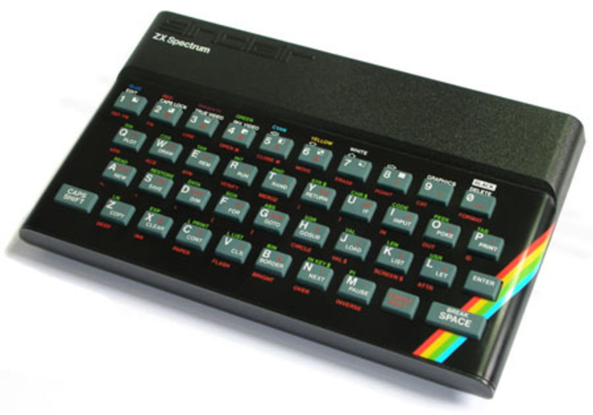 The 48K Spectrum was pushed way beyond it's limitations