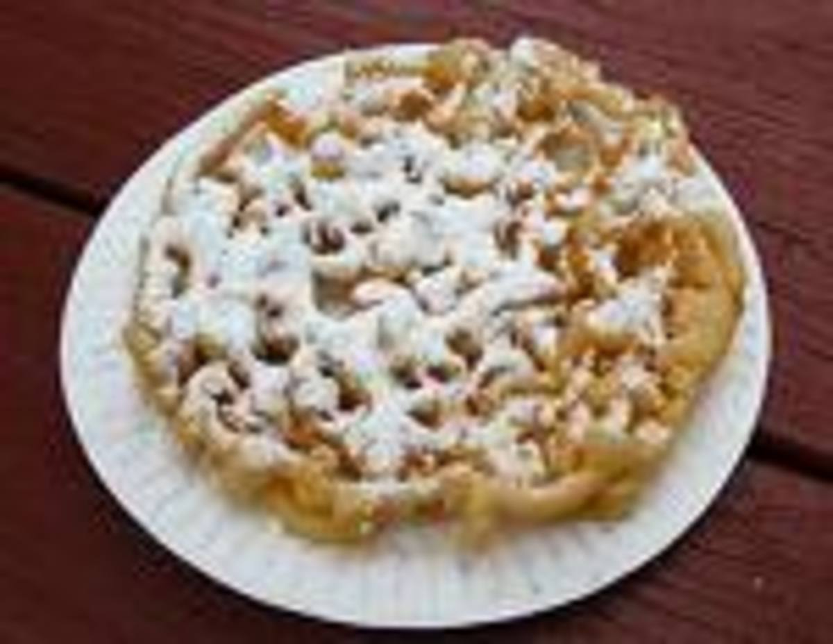 Last but not least FUNNEL Cake