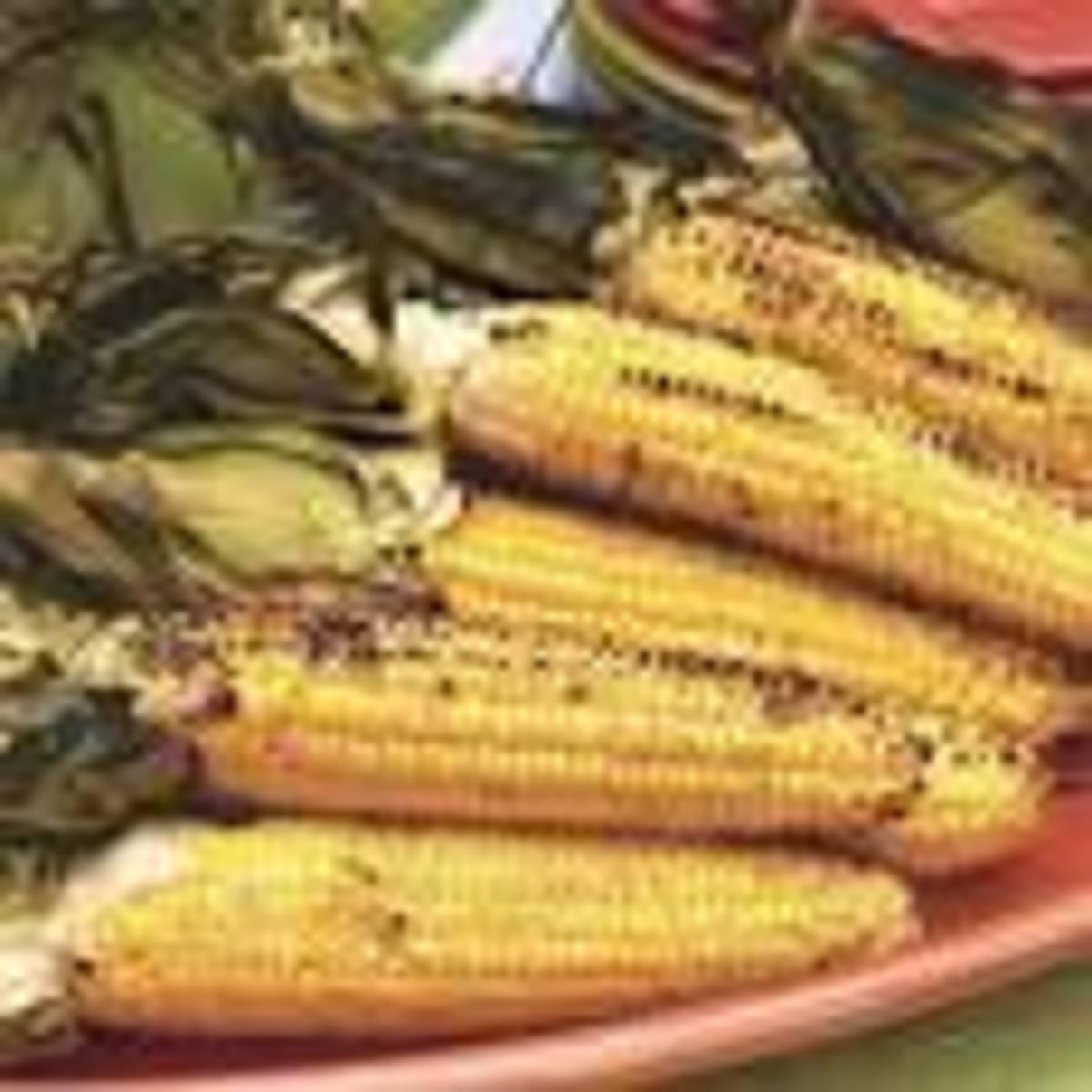 Grilled Yummy Corn